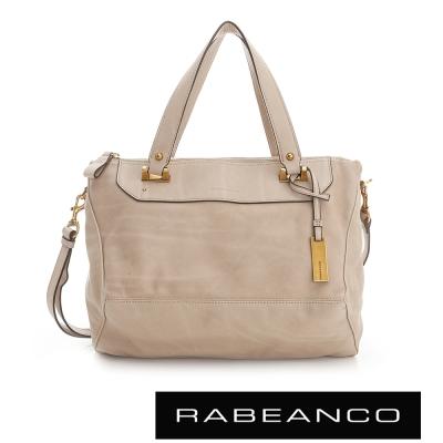 RABEANCO OL 時尚粉領系列菱形包(中) - 杏