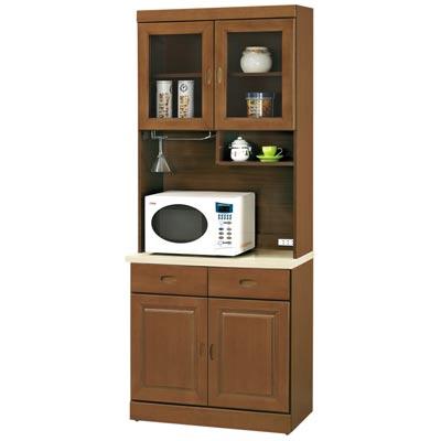 時尚屋 凡尼爾樟木色2.7尺餐櫃組