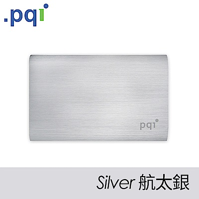 PQI Power 10000V 髮絲紋行動電源 航太銀