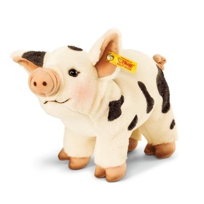 STEIFF德國金耳釦泰迪熊 - Roserl Mini pig (動物王國)