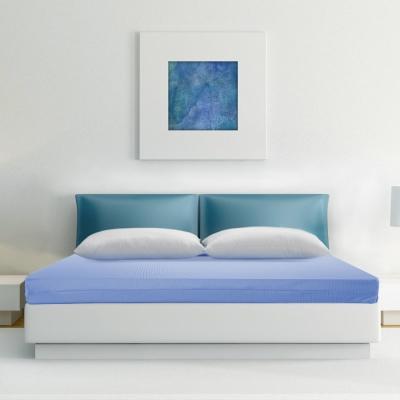 幸福角落 防蹣抗菌8cm竹炭釋壓記憶床墊-雙人加大6尺