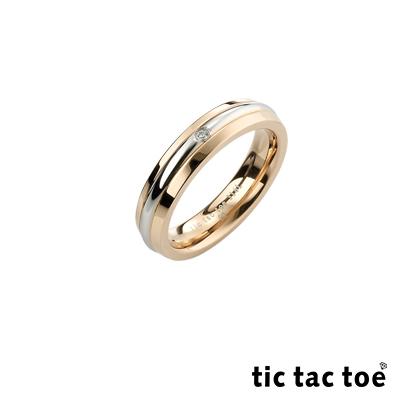 tic tac toe 幸福時刻白鋼女戒指
