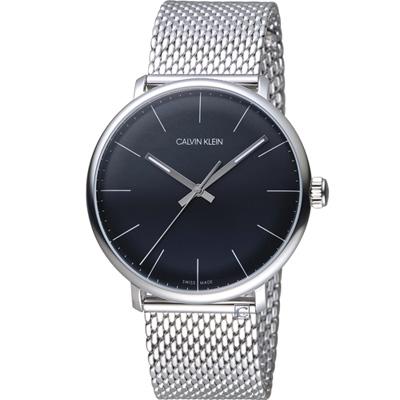 Calvin Klein ck巔峰系列 復刻版時尚腕錶(K8M21121)黑/40mm