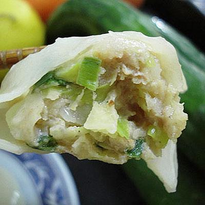 【那魯灣】頂級手工高麗菜、嫩薑水餃各2包(50粒/包)