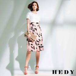 Hedy赫蒂 假兩件雪紡洋裝(共二色)