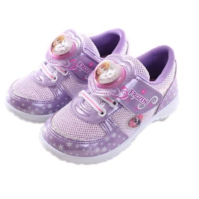 冰雪奇緣超炫閃燈鞋 紫 sa64357