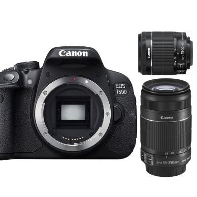 Canon-750D-18-55mm-55-250