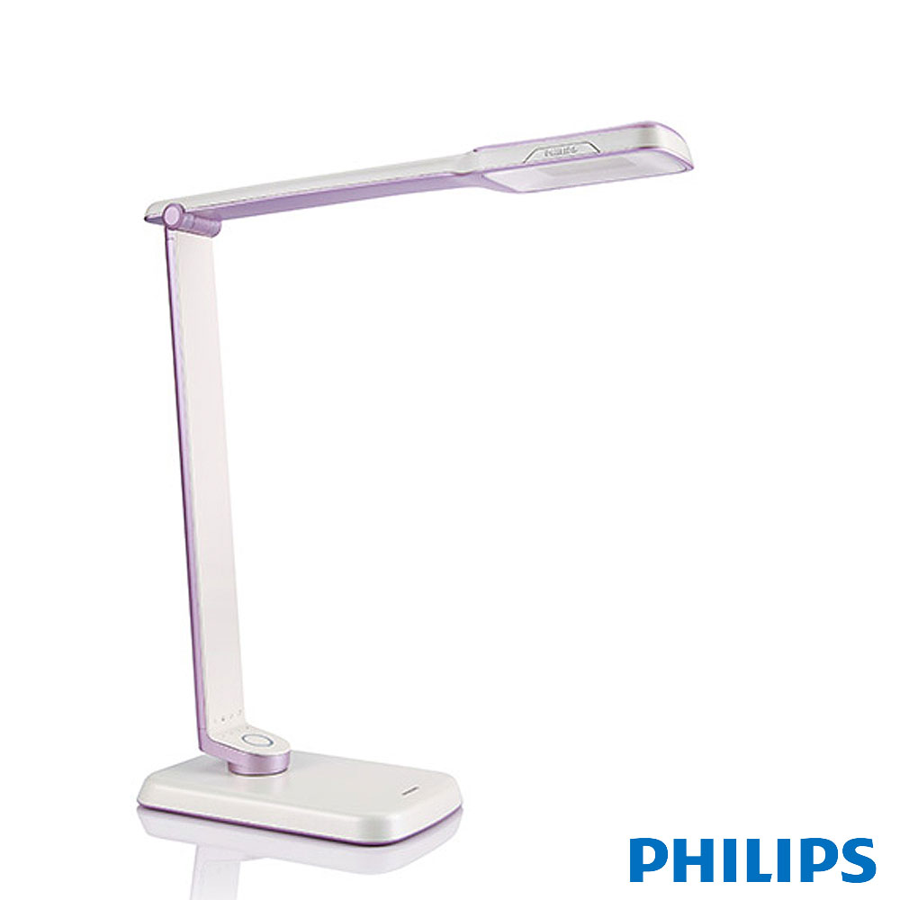 飛利浦 PHILIPS SPADE PLUS 晶彥大視界LED檯燈-紫色 (71663)