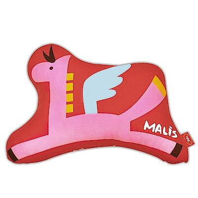 義大利Fancy Belle X Malis 小飛馬 數位造型抱枕 42*31CM