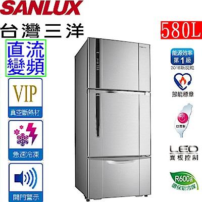 SANLUX 台灣三洋 580公升三門直流變頻電冰箱 SR-C580CV1