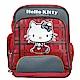 Hello Kitty 凱蒂貓 蘇格蘭格紋護脊書包 product thumbnail 1