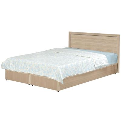 時尚屋 溫莎6尺床片型加大雙人床(床頭片+床底)