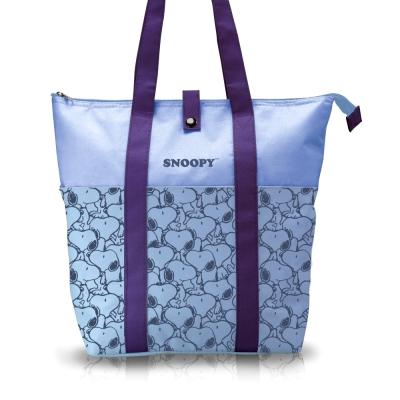 SNOOPY史努比 悅活保冰保溫大容量休閒袋