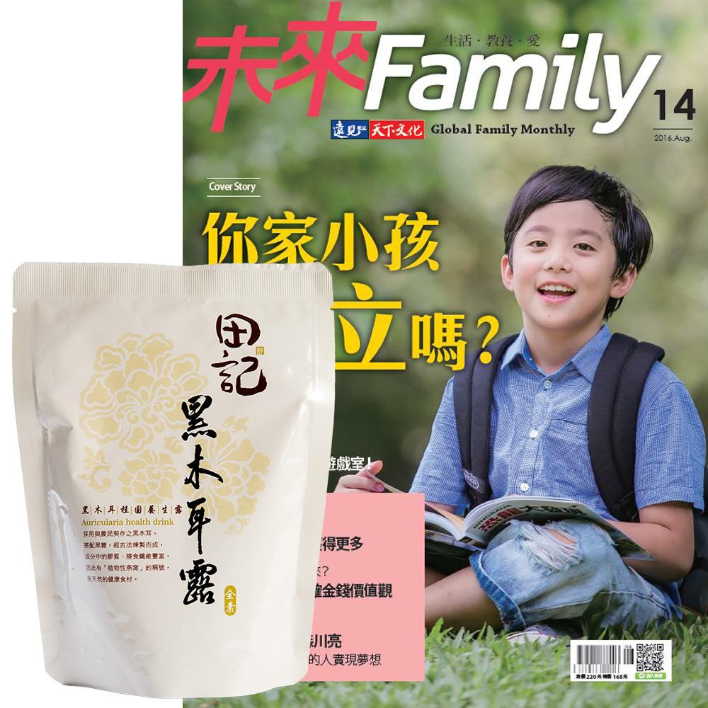未來Family (1年12期) 贈 田記黑木耳桂圓養生露 (300g/10入)