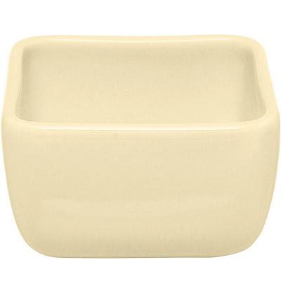 EXCELSA Trendy方型點心碗(奶油黃9cm)