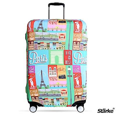 Starke 26-29吋高彈性行李箱套 -浪漫巴黎