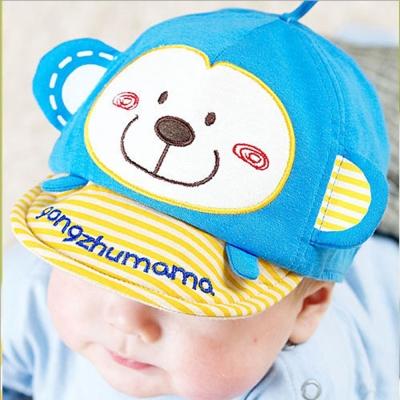 韓版-小猴子棒球鴨舌帽