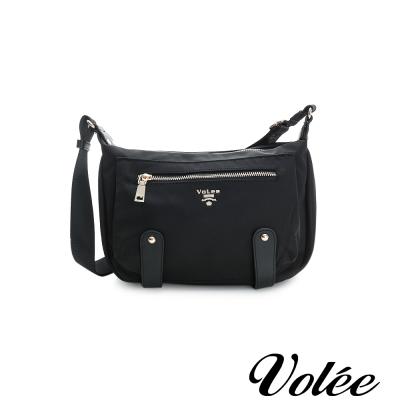 Volee飛行包 - 趣旅行經典飾帶斜背包 德國黑