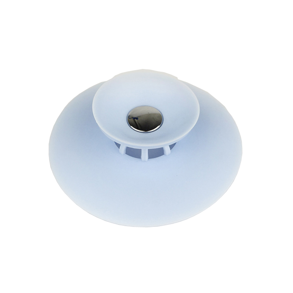 PUSH!廚房用品按壓式水槽過濾網塞排水口水槽防堵塞防臭地漏塞(2入1組)D124