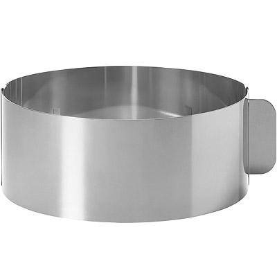 EXCELSA 可調式不鏽鋼塑型環(圓15cm)