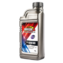 MUSCLELUBE美國肌肉5W40全合成機油  添加MT-10  1公升/瓶