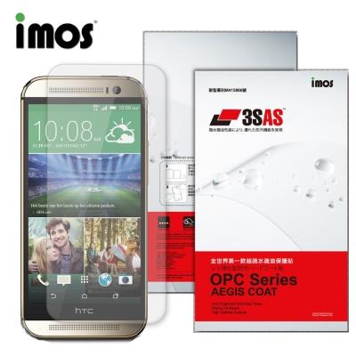 iMOS HTC M8上 正面上下段Dot View 精細孔洞 保護貼