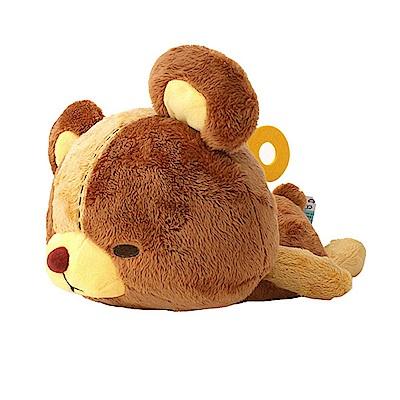 TAITO 日版 日本Truffe發條小熊 趴姿發條小熊 絨毛娃娃 閉眼 B款