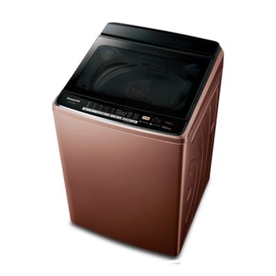 Panasonic 國際牌 17公斤 直立式 變頻洗衣機 NA-V188EB-T 晶燦棕