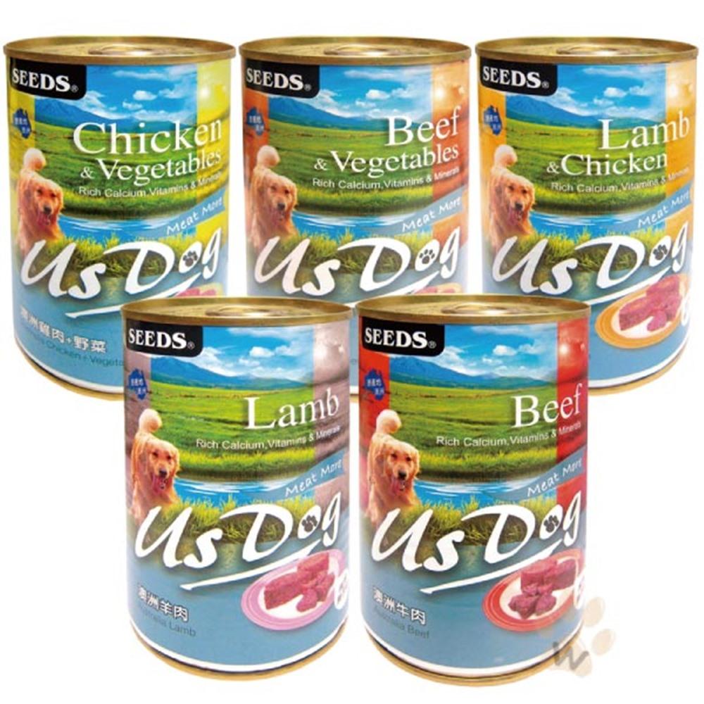 聖萊西Seeds USDOG 愛犬機能餐罐 400g