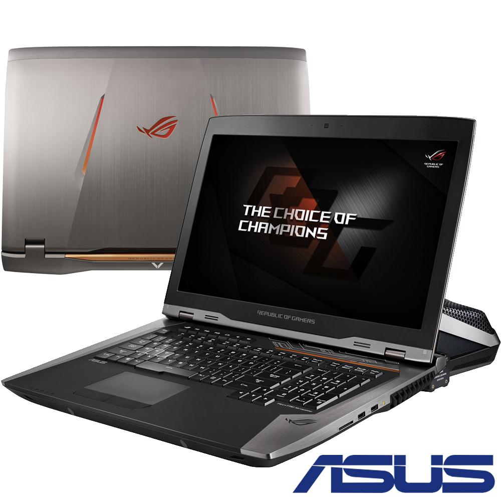 ASUS GX800 18吋水冷電競筆電(i7-7820HK/1080SLI/1.5T/64G