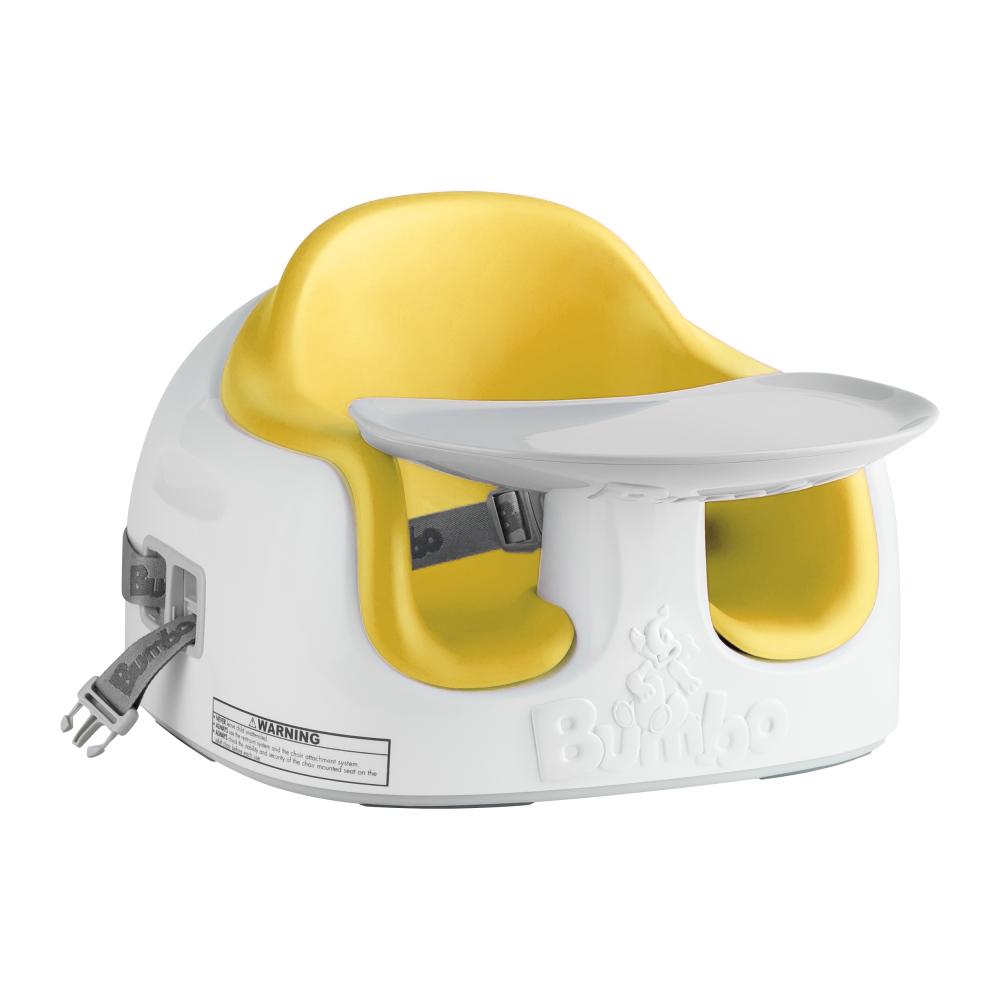 南非BUMBO 多功能幫寶椅(餐椅、幼兒座椅)-黃