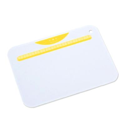 【KYOCERA】日本京瓷抗菌砧板(白底黃)