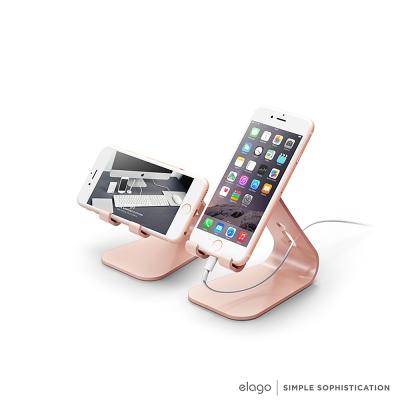 Elago M2 鋁合金手機支架-玫瑰金限量款