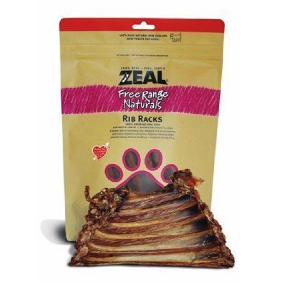 岦歐ZEAL 紐西蘭天然寵物食品《牛肋排骨》125g 兩包組
