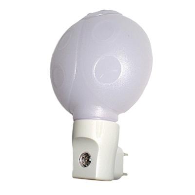 朝日光電 光控感應LED黃光瓢蟲小夜燈