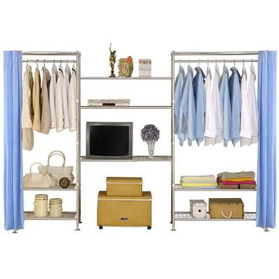 巴塞隆納-W3型60+90+90cm置物/收納衣櫥架