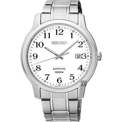 SEIKO精工 CS系列城市戀人腕錶(SGEH67P1)-白/41mm