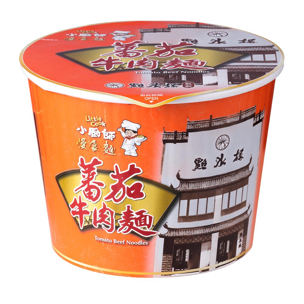 (活動)小廚師 蕃茄牛肉麵慢食麵(295gx6桶)