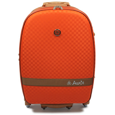 Audi-奧迪-29吋提花系列7輪360度Audi行李箱旅行箱LT-70529-橘