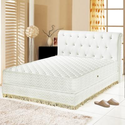 Ally愛麗 飯店用-矽膠抗菌3M防潑水護邊獨立筒床墊-雙人5尺