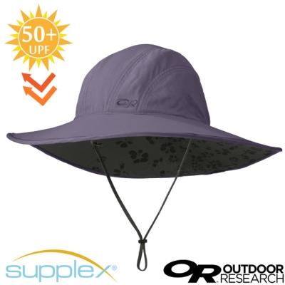 【美國 Outdoor Research】超輕3D全防曬抗UV透氣大盤帽_蒼紫