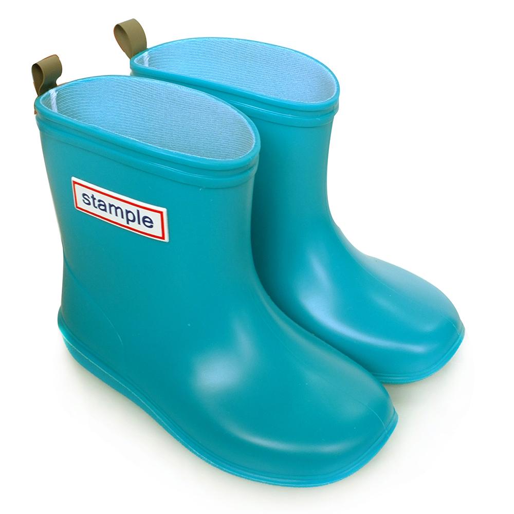 Stample日本製兒童雨鞋(天空藍)