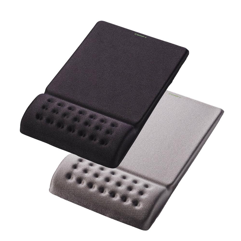 日本ELECOM COMFY舒壓鼠墊二代(黑)