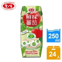 愛之味 oligo番茄汁利樂包(250mlx24入)