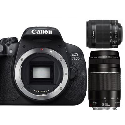 Canon 750D+18-55mm+75-300mmIII代(中文平輸)