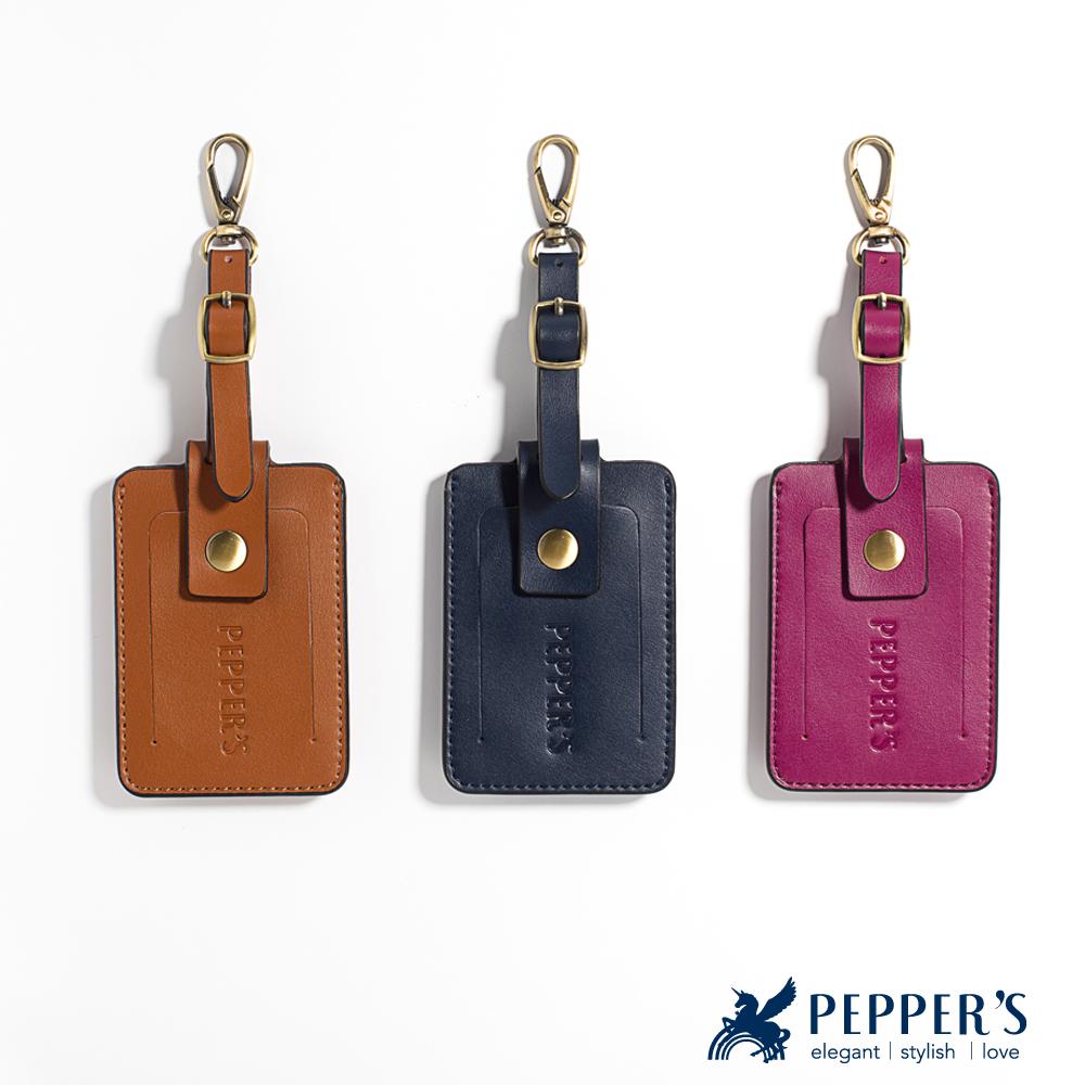 PEPPER`S Norah 牛皮證件夾 -3色