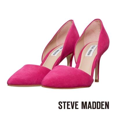 STEVE-MADDEN-尖頭高跟鞋-吸睛桃紅