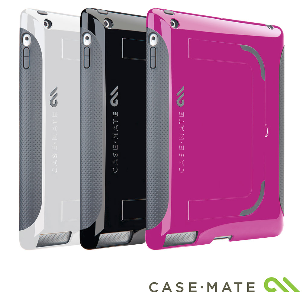 Case-Mate Apple iPad 2 專用波普雙色可站立保護套