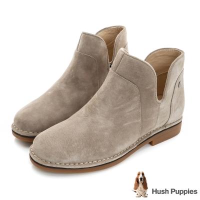 Hush Puppies ICON58防潑水沙漠靴-褐麂皮