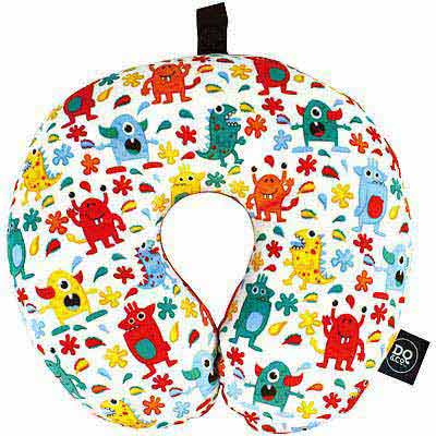DQ U型兒童護頸枕(門牙怪獸)